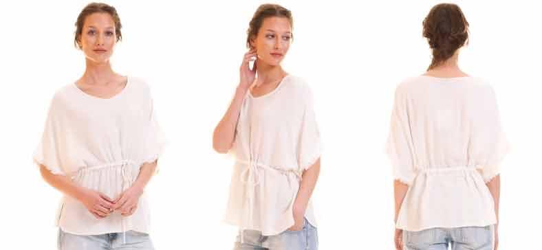 Kaftan blanco de Vila Clothes