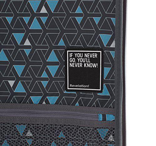 REVELATION Theo 3732123073 - Equipaje de cabina, Gris, 55 cm, 44 L
