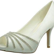 Paco Mena Julieta – Zapatos de vestir de raso para mujer Zapatos Paco Mena