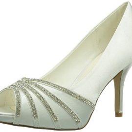 Paco Mena Julieta – Zapatos de vestir de raso para mujer