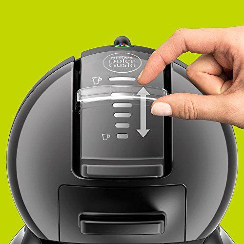 Krups Mini Me – Cafetera multibebida, color negro y gris