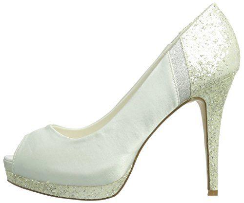 Paco Mena Diana – Zapatos de vestir de raso para mujer