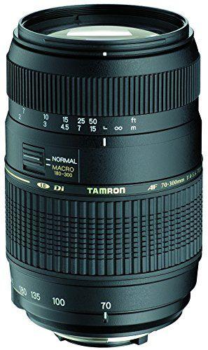 Tamron A17NII – Objetivo para Nikon (70-300mm, f/4-5.6, macro, 62 mm), color negro