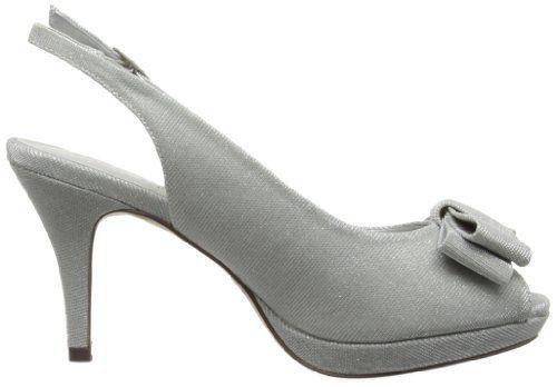 Paco Mena Gullaume 05716X687 – Sandalias de satén para mujer, color beige, talla 36