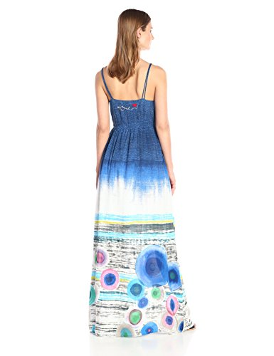 Desigual, MARTE - Camiseta para mujer, Blue (Tinta), 38