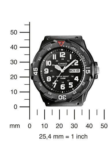 Casio MRW-200H-1BVEF – Reloj analógico de cuarzo para hombre