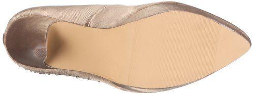 Paco Mena Gray 04708 – Zapatos de vestir de tela para mujer