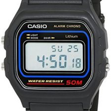 Casio Collection – Reloj Hombre Correa de Resina W59 Relojes