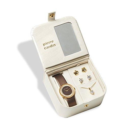 Pierre Cardin–Juego de reloj y joyas pcx5404l229