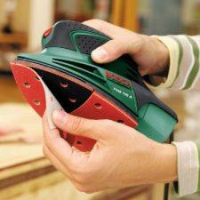 Bosch PSM 100 A – Lijadora (900g) Bricolaje y herramientas