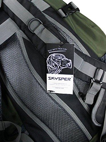Skysper- 30L Mochila Multifuncional de Senderismo Trekking