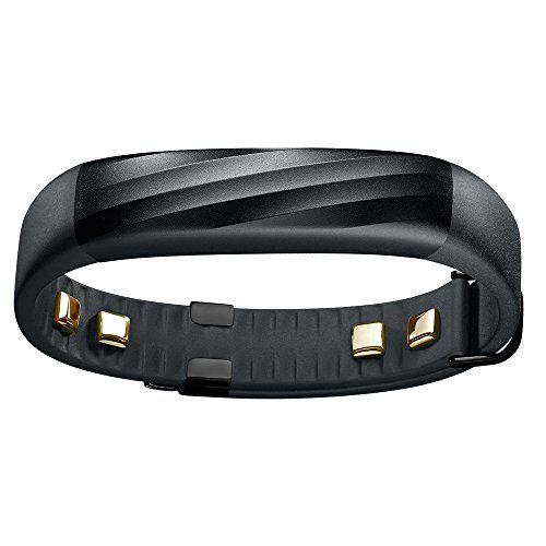 Jawbone UP3 - rastreadores de actividad (Muñequera, Inalámbrico, Polímero de litio, Negro, Aluminio, Acero inoxidable, Negro)
