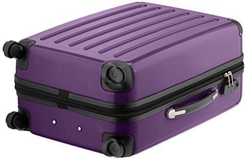 Hauptstadtkoffer Alex, Maleta a Mano Rígida, Morado (Purple), 65 cm