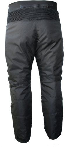 German Wear, Pantalones de Moto, Negro, 52/L