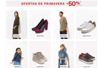 Ofertas de Primavera Amazon ropa, zapatos y bolsos