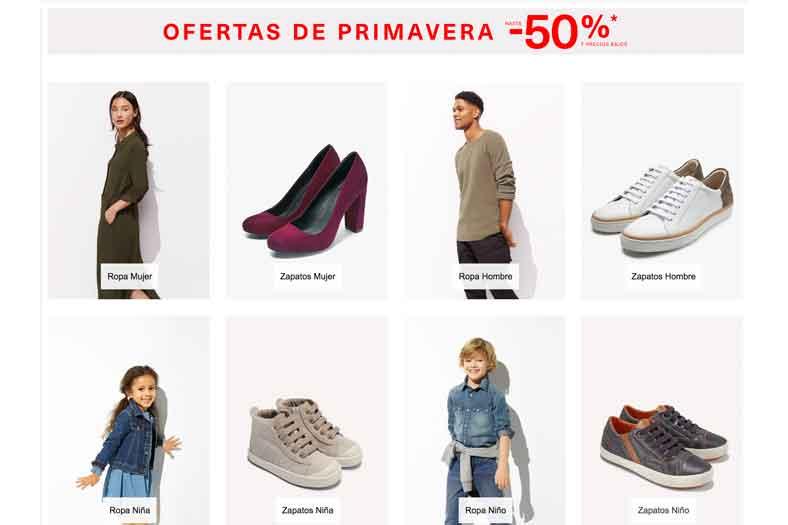 Ofertas de Primavera Amazon ropa 43a8eee686588