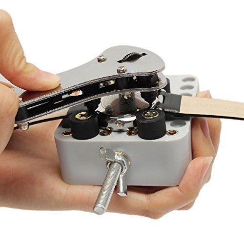 BABAN Profesional Abridor de Caja de Reloj Herramienta de Reparación de Reloj Llave Inglesa con 18 Bits