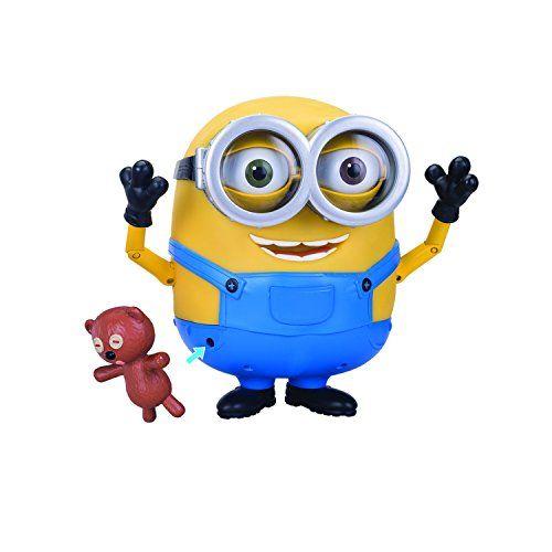 The Minions Interactive Minion Bob with Teddy Bear