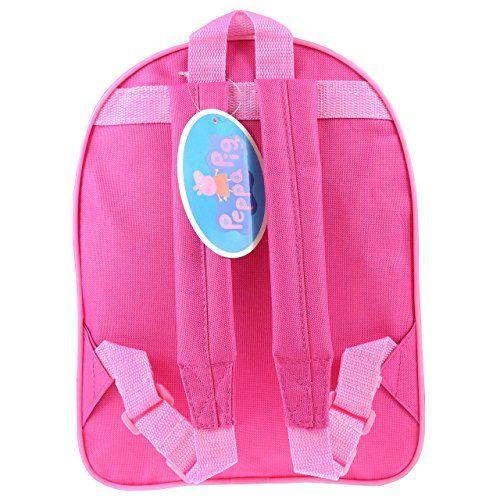 Peppa Pig PEPPA001177 - Mochila para niñas, modelo Peppa Pig, color rosa