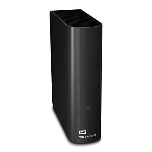 WD Elements - Disco duro externo de sobremesa de 5 TB SATA III, 5400