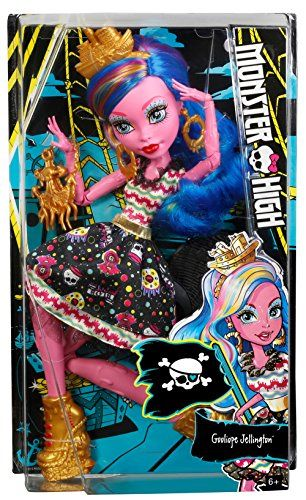 Monster High – Gooliope pirata (Mattel FBP35)