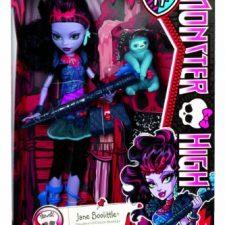Monster High – Muñeca Jane Boolittle (Mattel BLV97) Muñecas Monster High