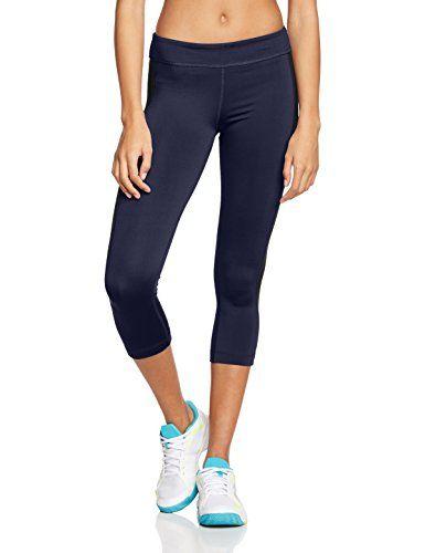 Zumba Fitness Crop It Capri - Mallas para mujer, color negro / gris,
