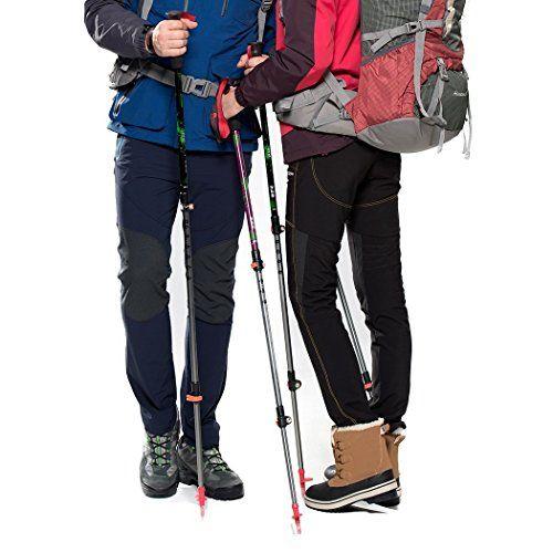 Mountaintop Bastones de trekking - Bastones - postes telescópicos