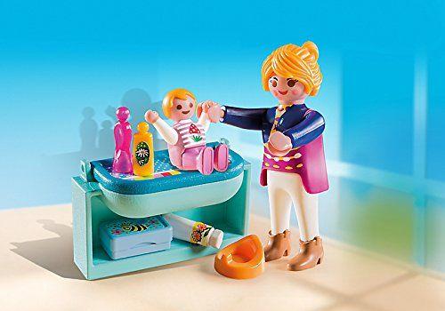 Playmobil - Mamá y niño con cambiador (53680)
