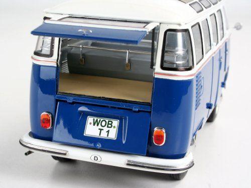 Revell – Maqueta Volkswagen T1 Samba Bus, escala 1:24 (07399)