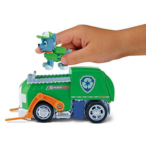Paw Patrol-  Rocky y su camión de reciclaje (Spin Master)