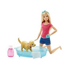 Barbie – Muñeca y su perrito chip chap (Mattel DGY83) Barbie