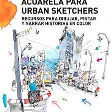 Acuarela para Urban Sketchers Arte - Cine y Fotografía