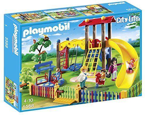 Playmobil Guardería – Zona de juegos infantil, playset (5568)