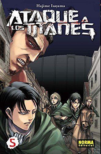 Ataque a los Titanes 5 (CÓMIC MANGA)