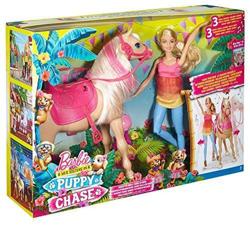 Barbie – Muñeca fashion y su caballo bailarín (Mattel DMC30)