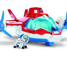 Paw Patrol – Helicóptero de Patrulla aérea, color rojo, azul, blanco La Patrulla Canina