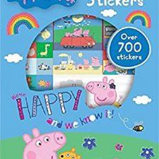 Peppa Pig – Juego de pegatinas, 700 unidades (Anker ANKPESTR) Peppa Pig - Juguetes