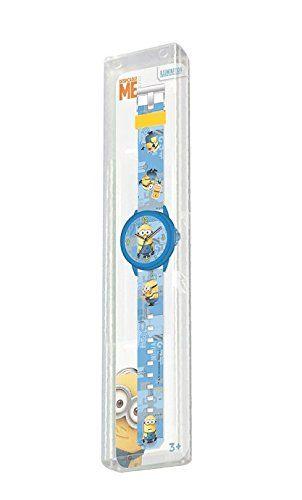 MINIONS: Peluche Bob MINION con su osito mascota 28cm + Reloj