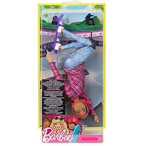 Barbie Movimiento sin límites – Muñeca patinadora