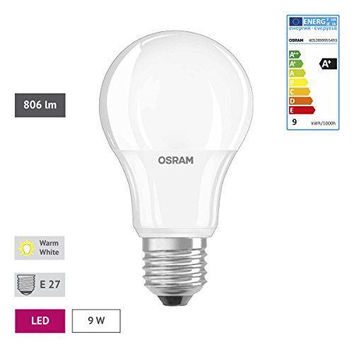 Osram Base Classic A – Lámpara LED, E27, color blanco