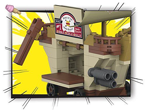 Bob Esponja - Burger móvil (Mattel CND25)