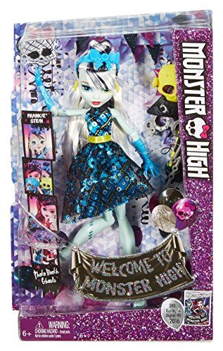 Monster High - Frankiestein, monstruitas photocall (Mattel DNX34)