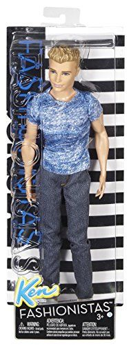 Barbie – Muñeco Ken fashionista (Mattel DGY67)