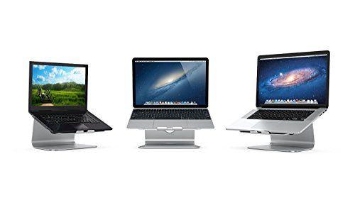 Laptop stand, soporte ergonómico de aluminio para laptop / notebook /