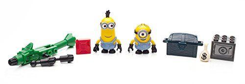Minions - Juego de construcción, furgoneta, multicolor (Mattel