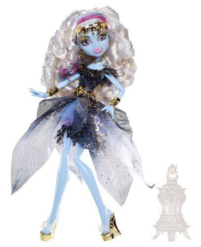 Monster High – Muñeca diseño Abbey (Mattel BBR94) Muñecas Monster High