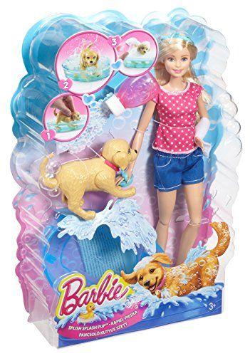 Barbie – Muñeca y su perrito chip chap (Mattel DGY83)