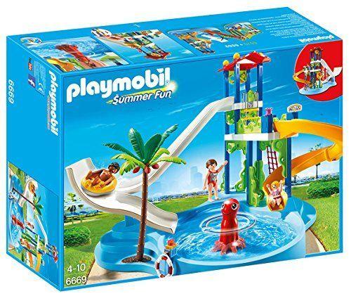 Playmobil – Parque acuático con toboganes (66690) Ofertas en Playmobil