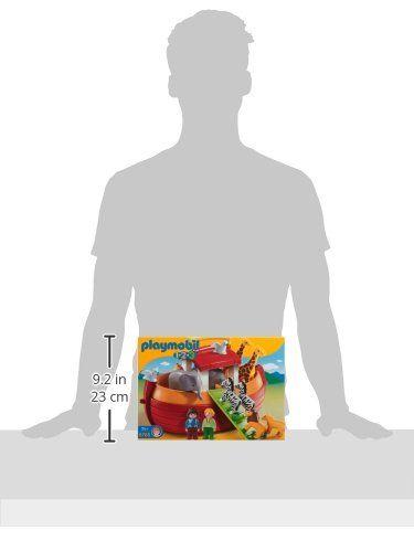 Playmobil 1.2.3 – Arca de Noé, forma de maletín (6765)